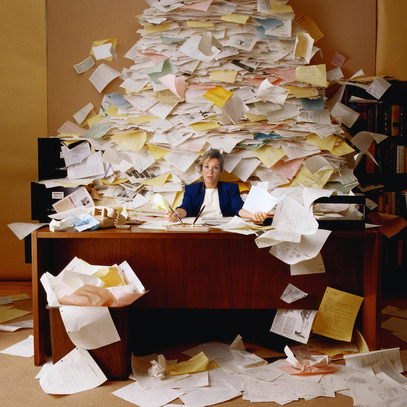 Drowning in Paperwork - You Need Enterprise Content Management (ECM)